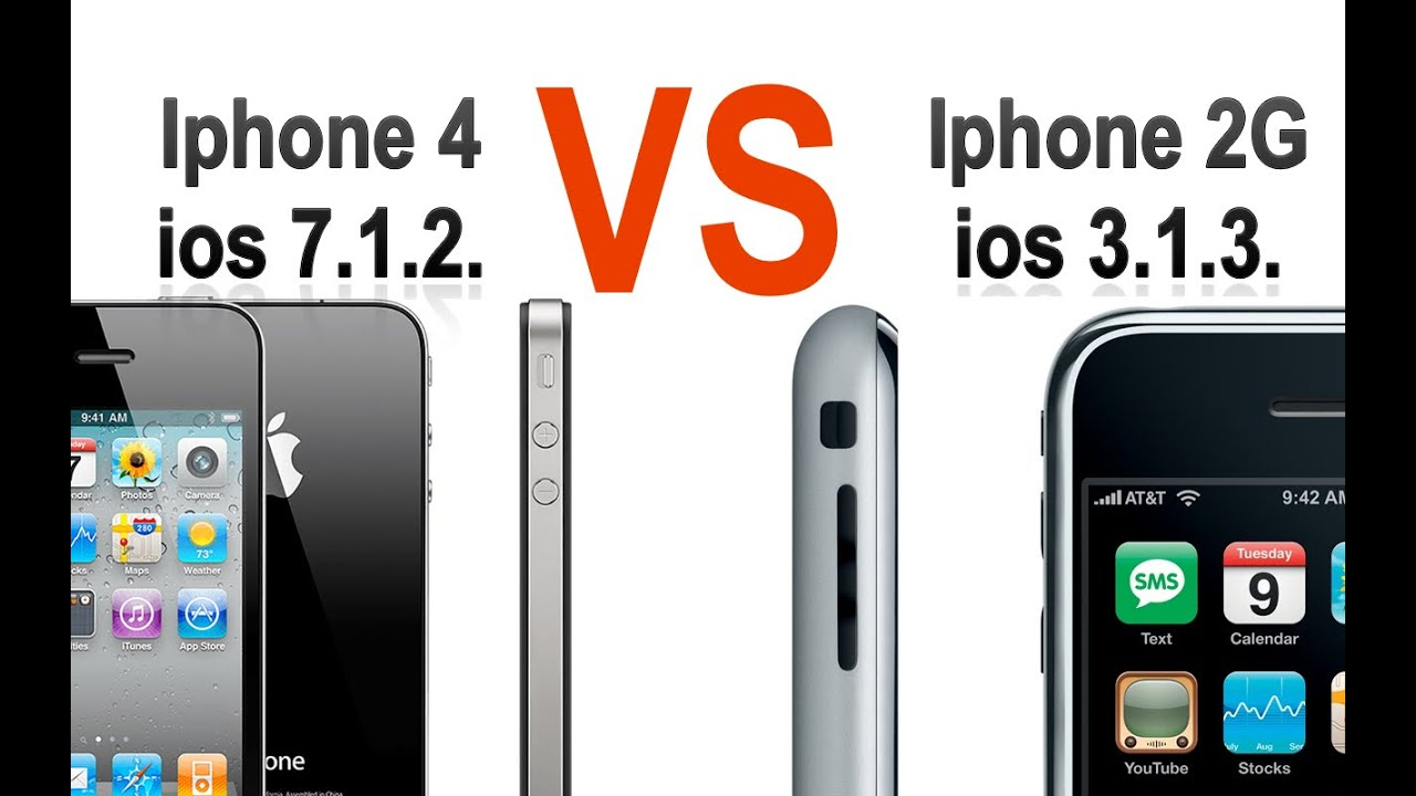 iphone 1 vs iphone 3