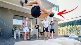 I Tried Learning H๐w to Backflip in a Day