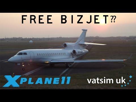 X-Plane 11 | London City Go-Around! | Falcon 7X | VATSIM