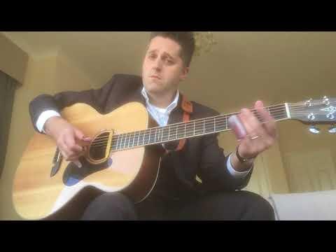 Alvarez Baritone guitar open tuning