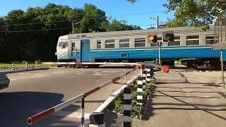 ЖД переезд  Харьков, Лосево 2