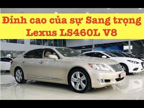 (ĐÃ BÁN) Đỉnh Cao Xe Sang: Lexus LS460L V8 4.6 | XE CŨ SÀI GÒN