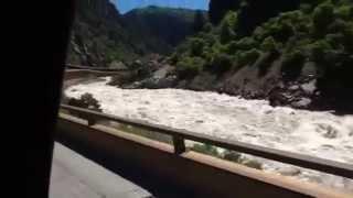 Colorado River Rapids and High Waer
