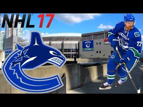 Round 3 - Vancouver Canucks Franchise Mode - Ep 15 - NHL 17