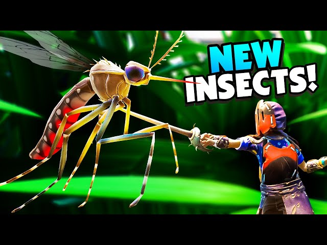Deadly New INSECTS In Huge Grounded Survival Update - Grounded Beta