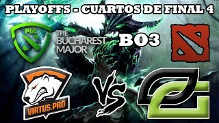 DOTA 2 EN VIVO - Virtus pro vs Optic Gaming B03 The Bucharest Major 2018 Dota 2