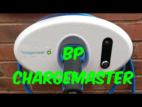BP ChargeMaster Home Wall Box Chager First Time Use