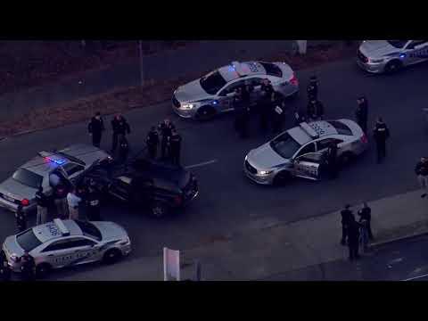 Aerials following LMPD pursuit