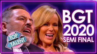 Britain's Got Talent 2020 SEMI FINAL! | WEEK 13 | Top Talent
