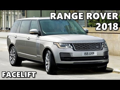 2018 Range Rover Facelift Exterior Interior Drive Features