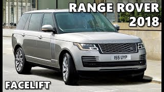 2018 Range Rover Facelift - Exterior, Interior, Drive, Features