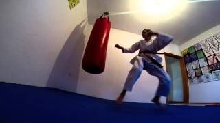 Karate trening