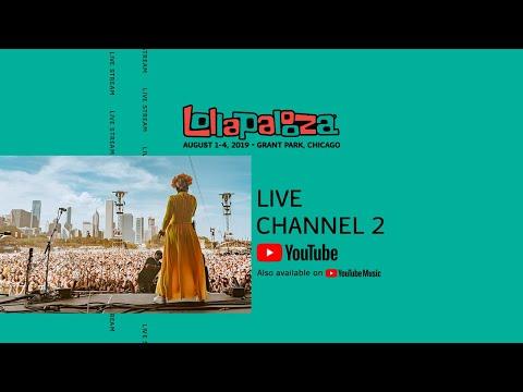 YouTube Live Stream – Lollapalooza