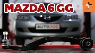 Mazda 6 GY hátsó felfüggesztés első alsó lengőkar csere ÚTMUTATÓ | AUTODOC