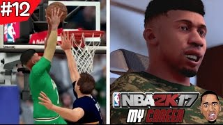 nba 2k17 my career prez hit the barber shop then dunks on everybody ep 12