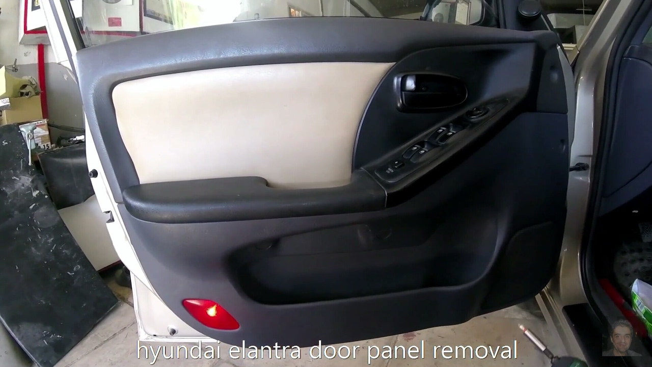 Hyundai Elantra Door Panel Removal Youtube