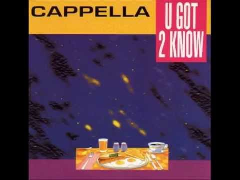 Cappella   U got to know HD extended