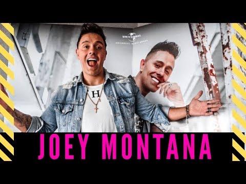 JOEY MONTANA falando português y canta EN VIVO!
