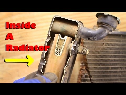 What is inside a Radiator?