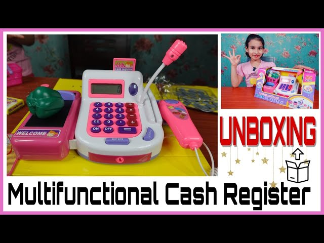 Shop Keeper Game Accessories /Cash Register Pretend Play Unboxing /Multifunctional /  #LearnWithPari