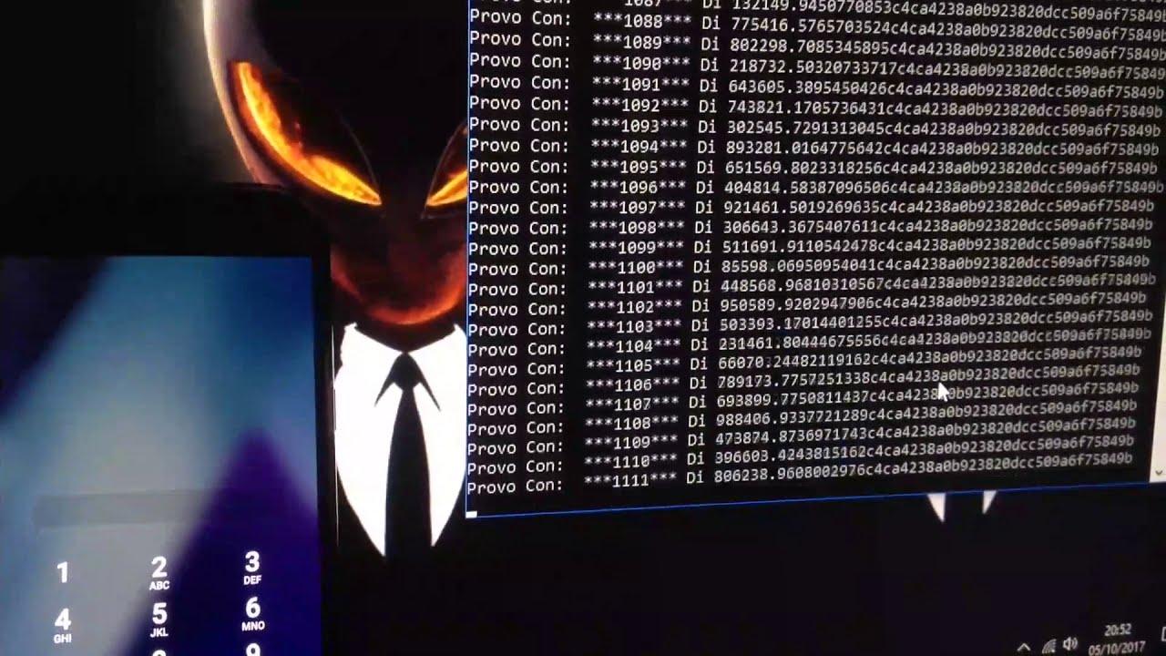 Hack – Unlock PIN Smartphone Android ADB Brute Force