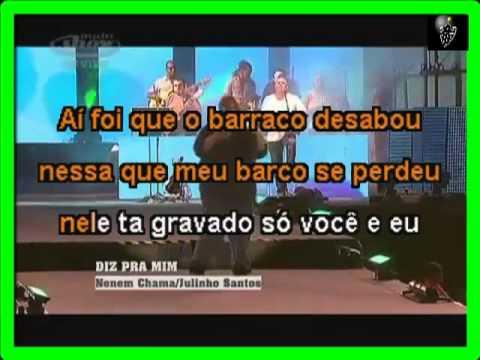VIDEO KARAOKE EXALTA SAMBA AI FOI QUE O BARRACO DESABOU