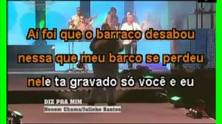 VIDEO KARAOKE EXALTA SAMBA AI FOI QUE O BARRACO DESABOU