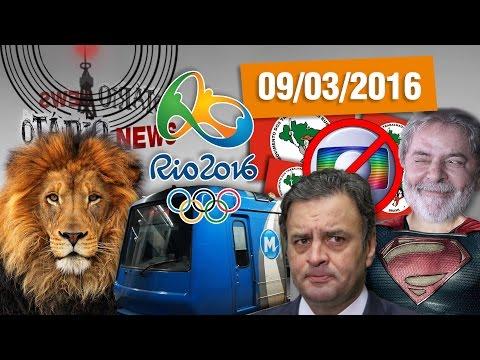 Impostos, Olimpíadas sem metrô, Oposição de cu é rola e Abaixo a Rede Globo #LulaHeroi