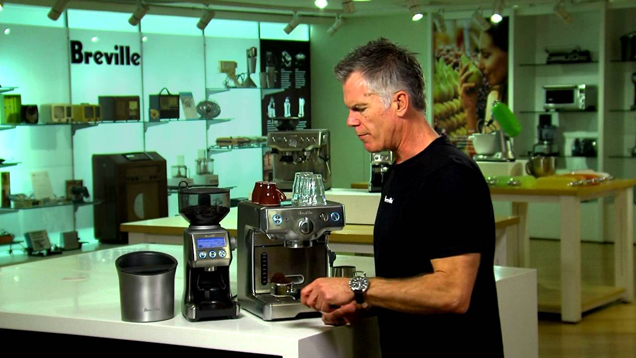 Breville Coffee Maker Stopped Working : Breville 800ES Coffee Maker Product Demonstration - YouTube