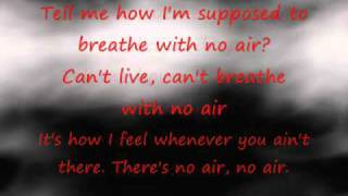 NO AIR - Austin Mahone & Alyssa Shouse duet cover (Lyrics) (Chris Brown Jordin Sparks)