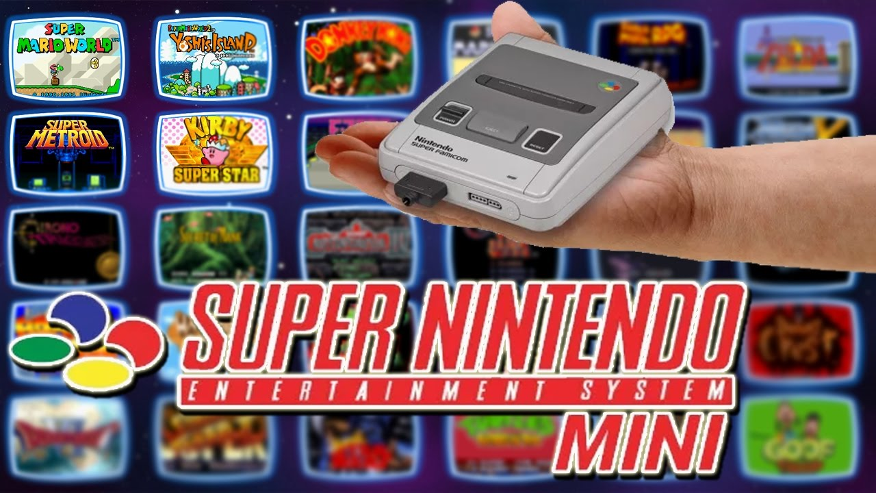 30 Jogos que Queremos no Snes Classic Mini