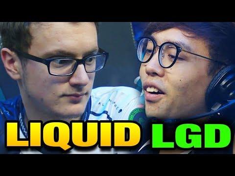 LIQUID vs LGD -  NON CHINESE TEAM LAST HOPE TI7 Main Event Bo3 [Game 1]