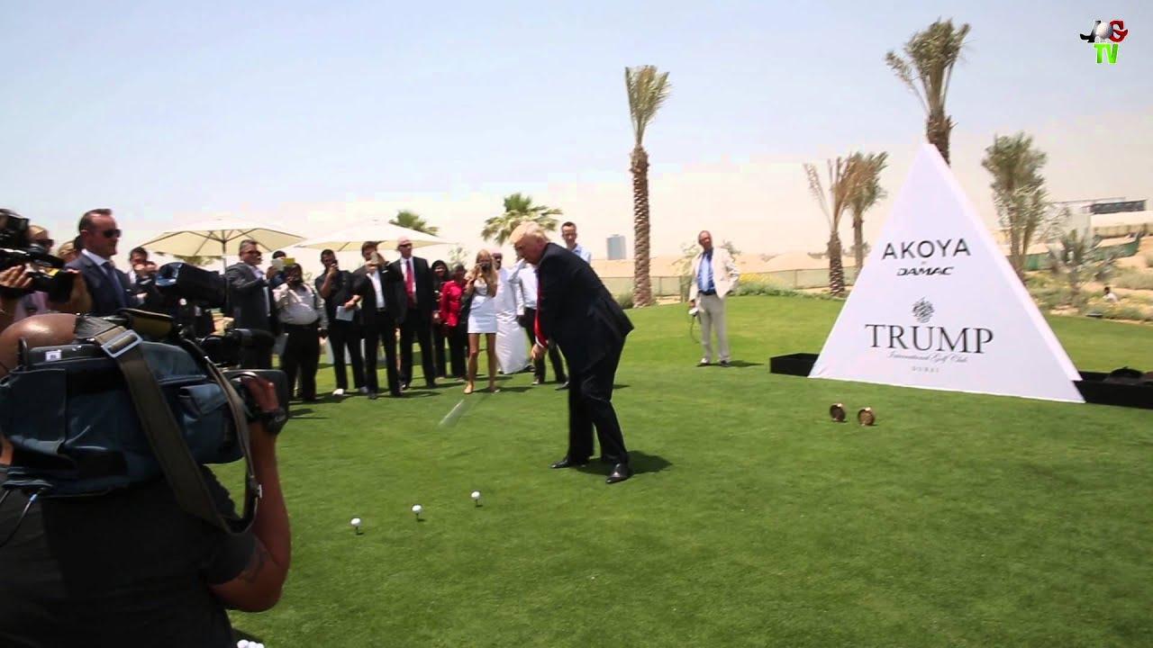 ... at Akoya by Damac - Trump International Golf Club Dubai - YouTube
