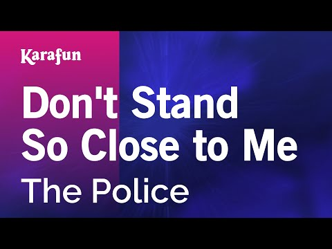 Karaoke Don't Stand So Close To Me - The Police *