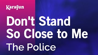 Gambar cover Karaoke Don't Stand So Close To Me - The Police *