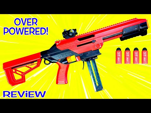 MOST POWERFUL NERF DART BLASTER OUT OF THE BOX? – Ceda Model S from Jet Blaster