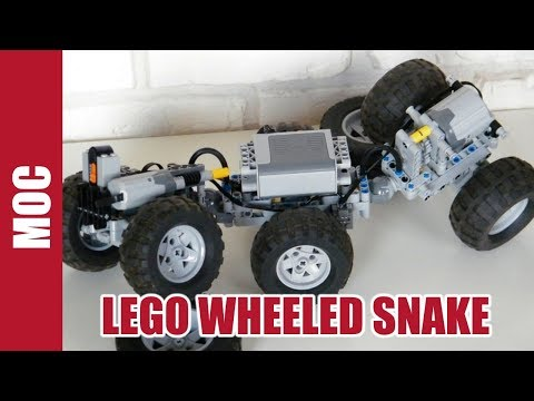 Lego Technic - RC Wheeled Snake By Nico71