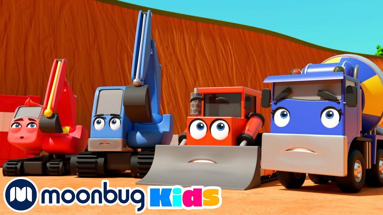 London Bridge Is Falling Down | Compilation | Digley & Dazey | Excavator for Kids