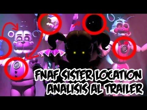 Fnaf:Sister Location Things You Missed!!!