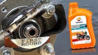 Repsol Moto Sport 4T 10W40 Jak skutecznie olej chroni silnik?