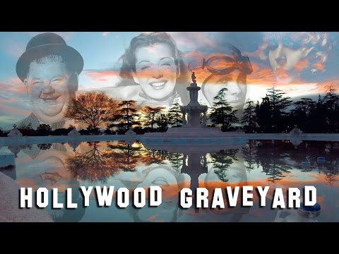 FAMOUS GRAVE TOUR  Valhalla Oliver Hardy, Bea Benaderet, etc.
