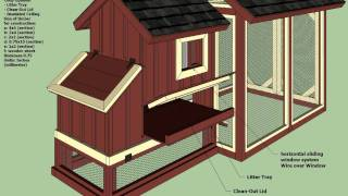 S101 - Backyard Chicken Coop Plans - How To Build A Chicken Coop