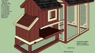 S101 - Backyard Chicken Coop Plans - How To Build A Chicken Coop