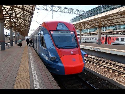 EG2Tv EMU ride from Novoperedelkino To Moscow Kiyevskaya railway station