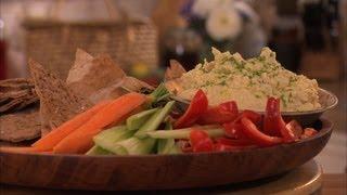 Healthy Homemade Hummus
