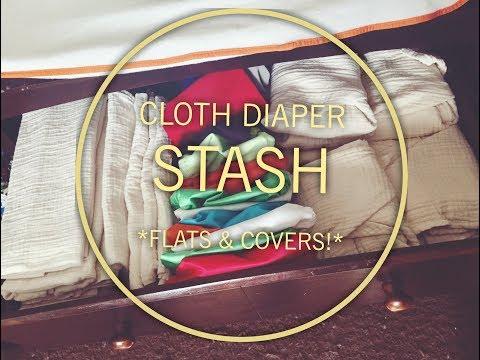 Cloth Diaper Stash - Flats And Diaper Covers