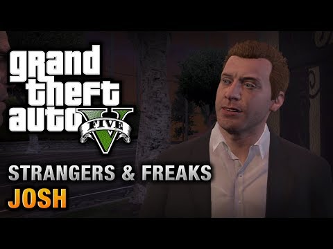 GTA 5 - Josh [100% Gold Medal Walkthrough]