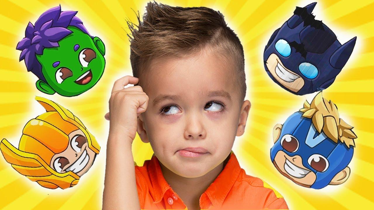 يتحول فلاد ونيكي إلى فيديو أبطال للأطفال