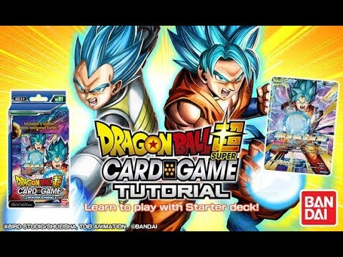 Dragon Ball Super Card Game Tutorial & Download App | GAMEPLAY