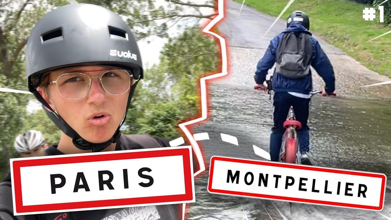 PARIS - MONTPELLIER EN BMX ! (700km) ep. 1